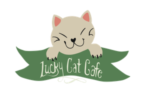 Lucky Cat Cafe Logo by lupie1324