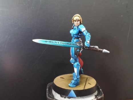 Infinity Miniatures - Joan of Arc by Reallybigfish