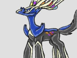 Xerneas by SurgeCraft