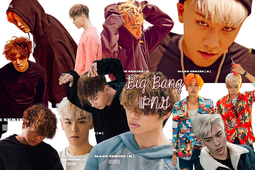 BIG BANG PNG Pack {Made Series [E]} by kamjong-kai