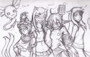 TOFFF Group by KidIcarus242