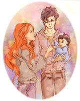 Potter Family by Chidori-aka-Kate