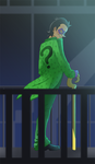 Riddler welcome to my chambers by pink-ninja
