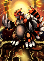 Groudon (part 2) by LizardonEievui13