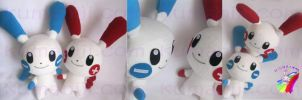 minum pulse pokemon plush by chocoloverx3