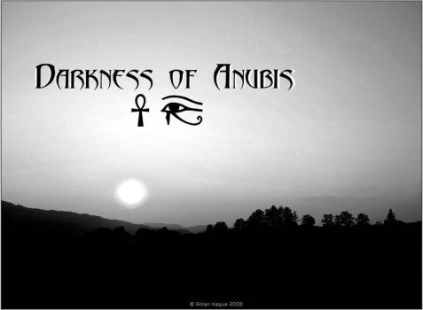 Darkness of Anubis Artwork by Jooseybug
