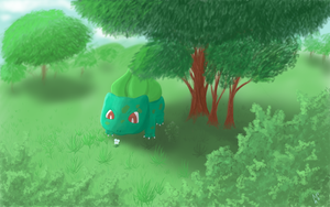 Bulbasaur by Monoe-Mistwalker