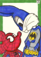 Bat Bugs and Spider-Mouse by 10th-letter