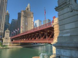 Michigan Avenue Bridge by historicbridges