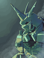Omnimon by KLouDraws