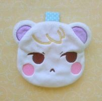 Animal Crossing: Marshal Zipper Pouch by sugarstitch