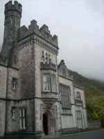 Gothic Irish Castle Stock by DistantWanderer