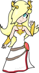 Lady Rosalina (Palutena's Outfit) by RobyApolonio