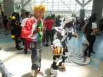 Anime Expo Day 4-  Liger Zero and Bit Cloud by MidnightLiger0