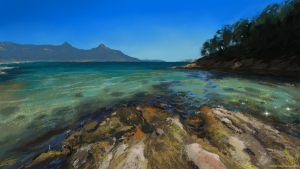 Study: Wineglass Bay by DM7