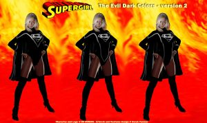 Dark Costume New Supergirl 2 by dlfurman