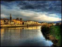 Florence Embankment by Unavi