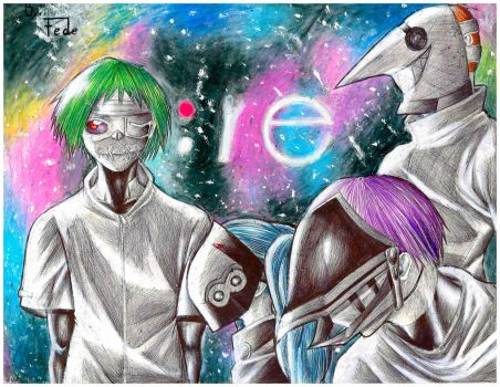 Tokyo Ghoul :re by FedericoMex