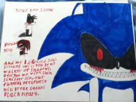 SONIC.EXE MESSAGE by sonicfan1143