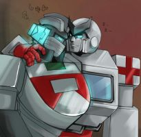 Ratchet and Wheeljack 2 by piyo119