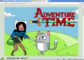 Tori Adventure Time Version by popularca2