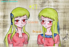Severine nd Brianda by SayaLOL