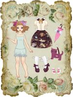 Neko-Loli paper doll by CandyMermaid