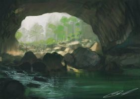 landscape study 3 by MO-SAID