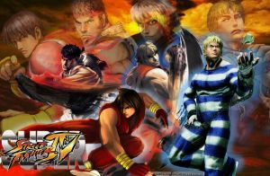 Super Street Fighter Wallpaper by SovietMentality