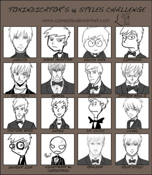16 styles challenge by MayOrnelas