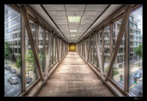 Downtown Catwalk HDR by joelht74
