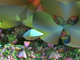In the Garden of Sedum - Pong 263 by GraphicLia