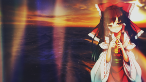 Hakurei Reimu Wallpaper by EdwinprGTR