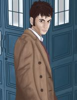 The Tenth Doctor by Disnerd1