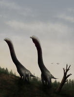 Longnecks by PrimevalRaptor