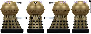 Frontier Dalek Emperor by Librarian-bot