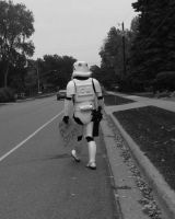 Hitchhiking to the Death Star by JediSeeker1