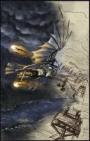Flying machine by Liziel