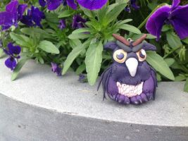Moonkin hatchling Alliance, Polymer clay! by Juulvh