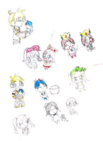 Cute Sketches by Bokeol