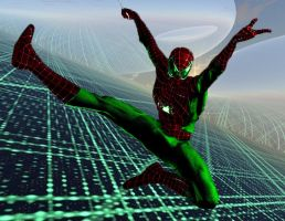 The Cyber Spider by stick-man-11