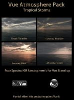 Vue Atmo Pack-Tropical Storms by 2753Productions