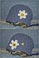 Flower Hat by CreativeExcess