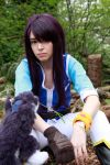 Tales of Vesperia: First Strike Yuri and Repede by VandorWolf