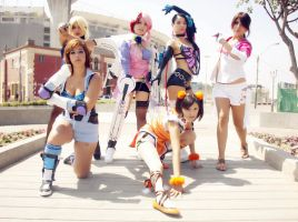 TEKKEN GIRLS COSPLAY ! by dashcosplay