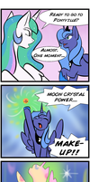 Bishoujo Pony Princess Luna by kourabiedes