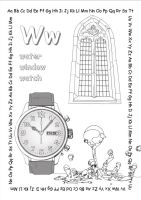 alphabet coloring pages Ww copy copy by jbeverlygreene