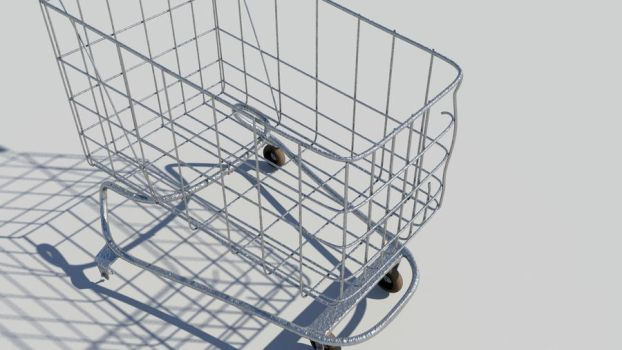 3D Trolley by potential-weed