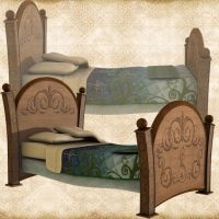 Childs Bed by Just-A-Little-Knotty