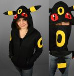 Umbreon Hoodie by ShoriAmeshiko